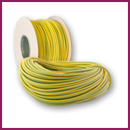 Green & Yellow PVC Sleeving